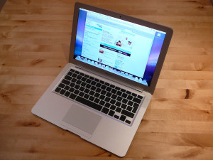 MacBook Air - open