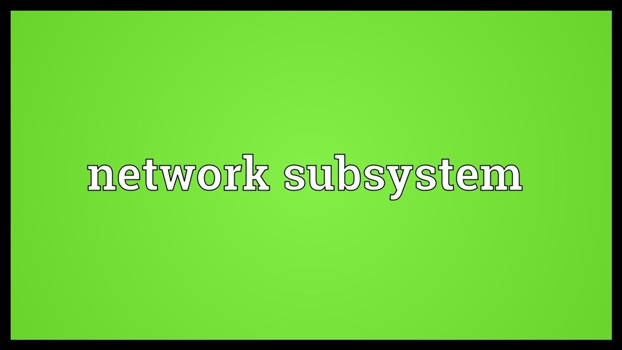 subsystem-definition-software-engineering